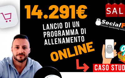 [CASO STUDIO] 14291€ – Il Lancio di un programma di allenamento online